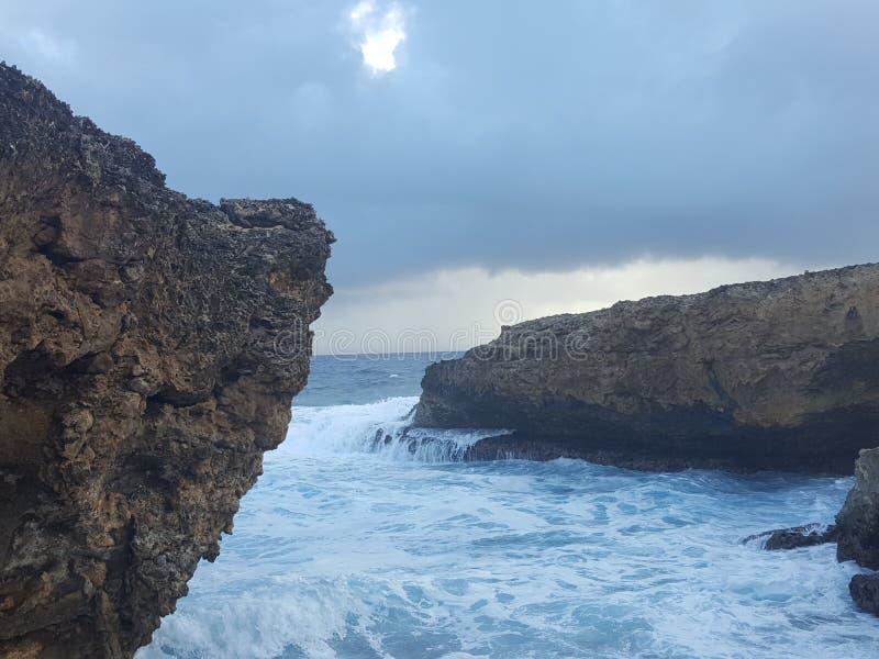 Boka Tabla Curacao fotografie stock