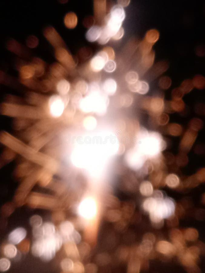 Bokah Fireworks. Fourth, july, lights stock photo
