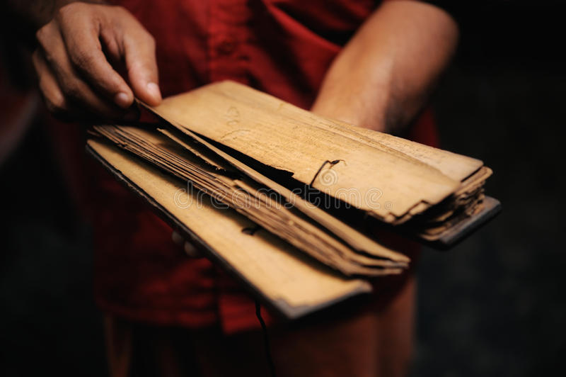 bokbön arkivfoto