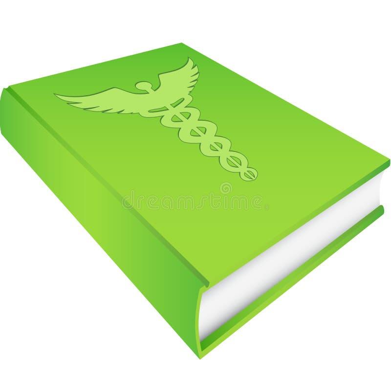 bokcaduceusgreen vektor illustrationer