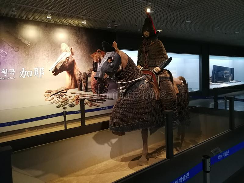 Bokcheon Museum, Busan. The Bokcheon Museum  is an archaeology museum in Busan, South Korea. Opened on October 5, 1996, the museum is dedicated to the history of royalty free stock image