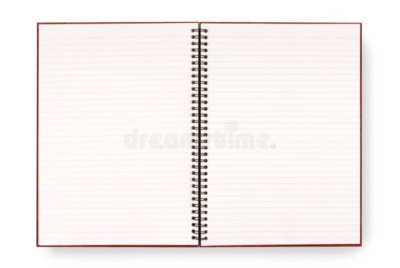 bokclose som skjutas upp writing arkivbild