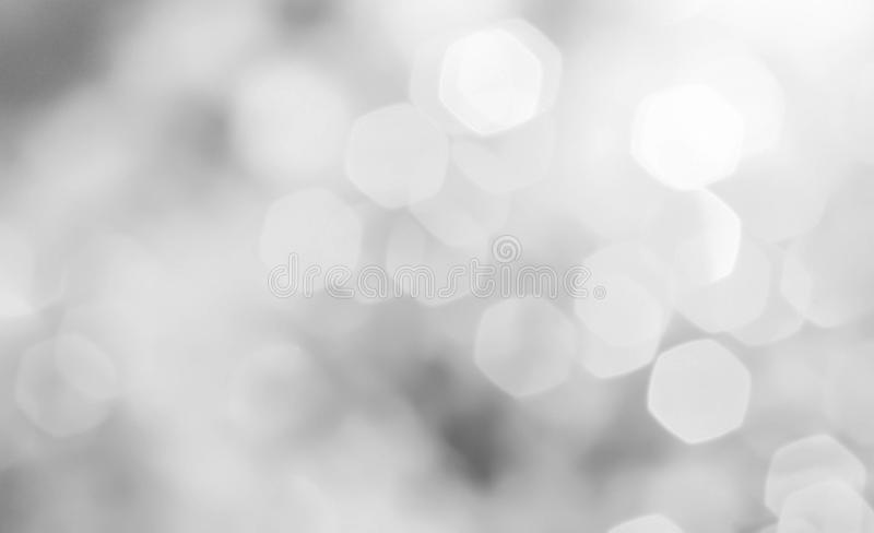 Boke in bianco e nero fotografia stock