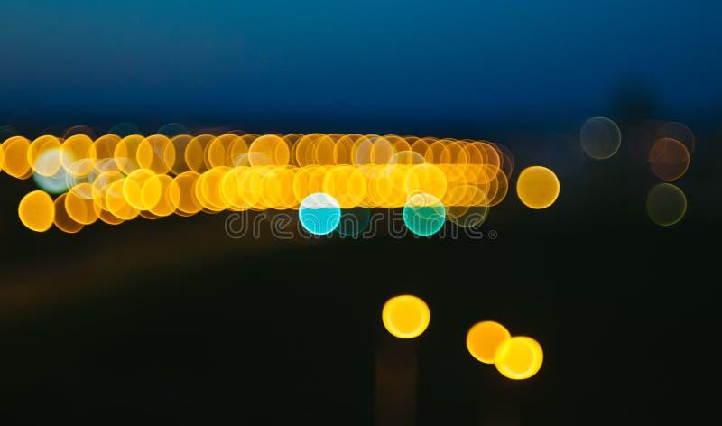 Bokeh światła zdjęcie royalty free