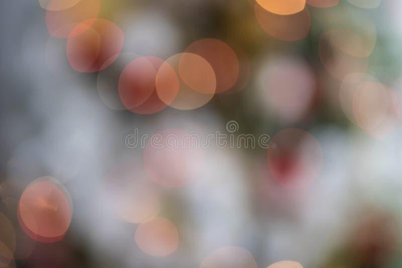Bokeh światła Z mgła skutka szczegółem obraz stock