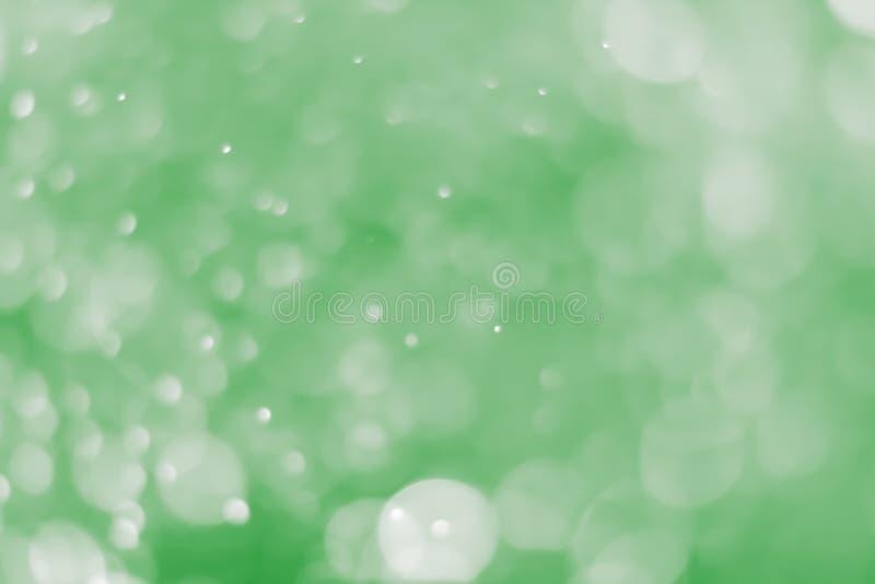 bokeh υπόβαθρο ανοικτό πράσινο στοκ εικόνα