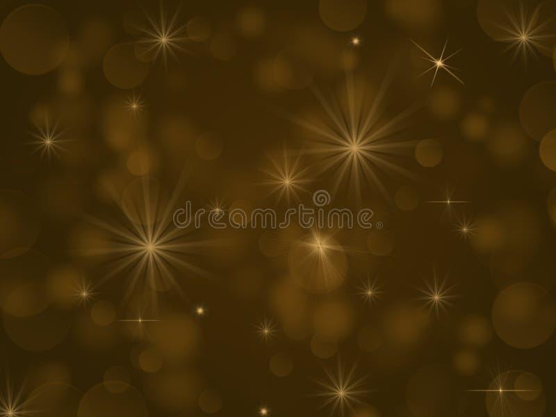 Bokeh желтых светов стоковые изображения rf