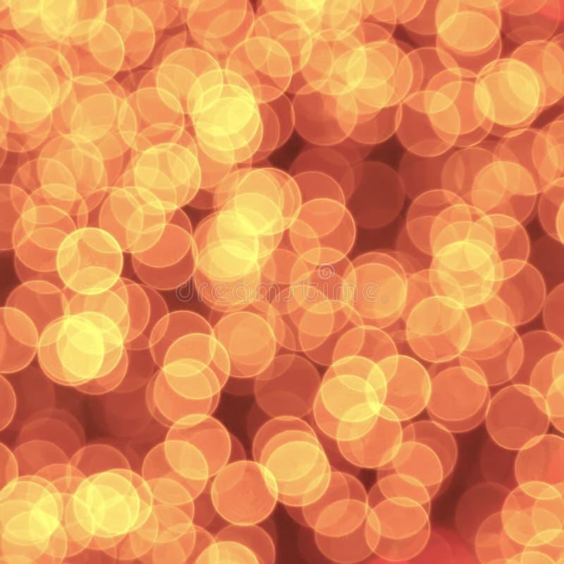 Bokeh запачканное конспектом красочное освещает предпосылку стоковая фотография rf