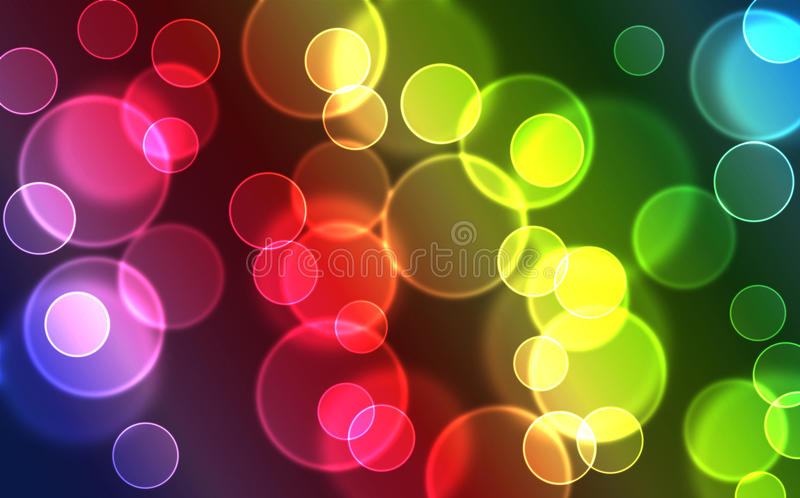 Download Bokeh stock illustration. Illustration of bubble, abstract - 10099493