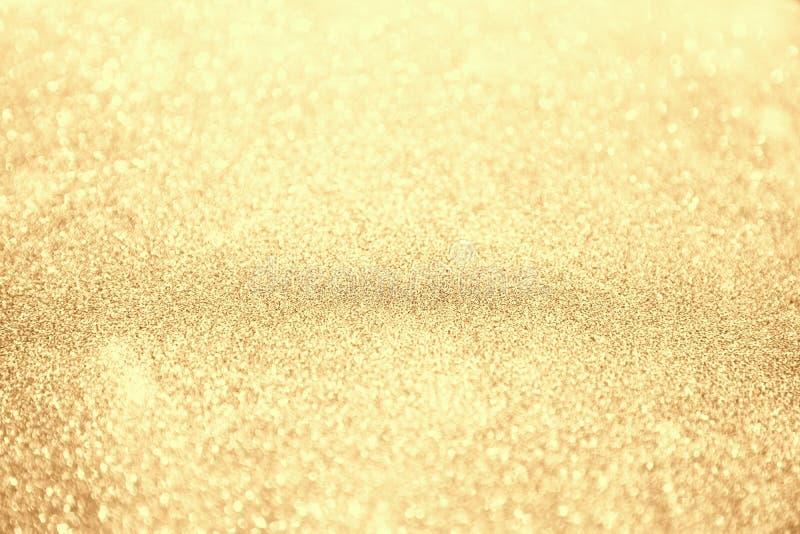 Предпосылка рождества конспекта золотая стоковые фото