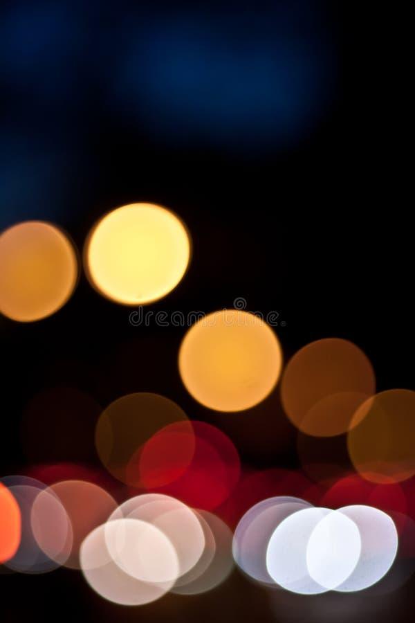 Bokeh abstracto fotografía de archivo