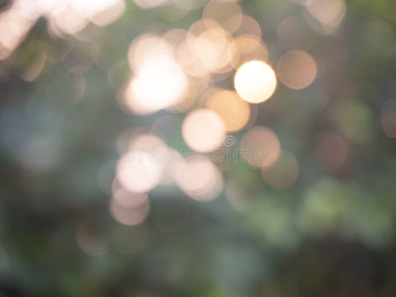 Bokeh abstracto de las luces del fondo fotos de archivo libres de regalías