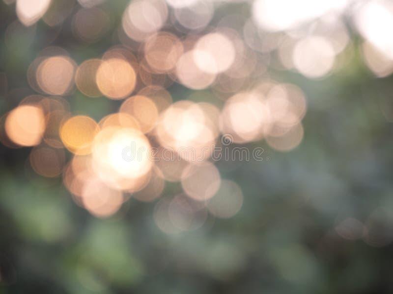 Bokeh abstracto de las luces del fondo fotos de archivo