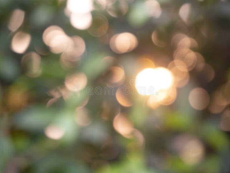 Bokeh abstracto de las luces del fondo fotografía de archivo libre de regalías