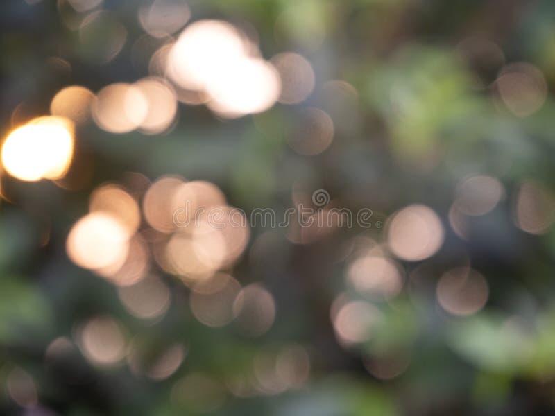 Bokeh abstracto de las luces del fondo fotografía de archivo