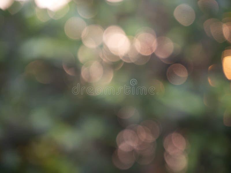 Bokeh abstracto de las luces del fondo foto de archivo