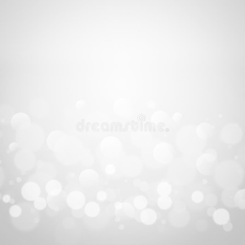 Bokeh abstracto del brillo en fondo negro foto de archivo