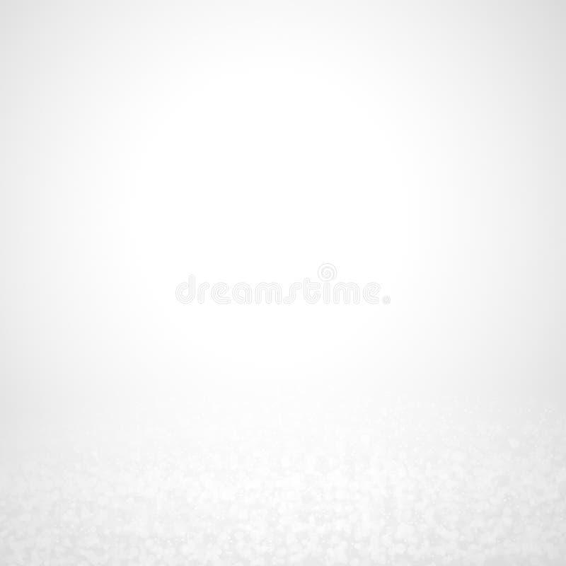 Bokeh abstracto del brillo en fondo negro foto de archivo libre de regalías