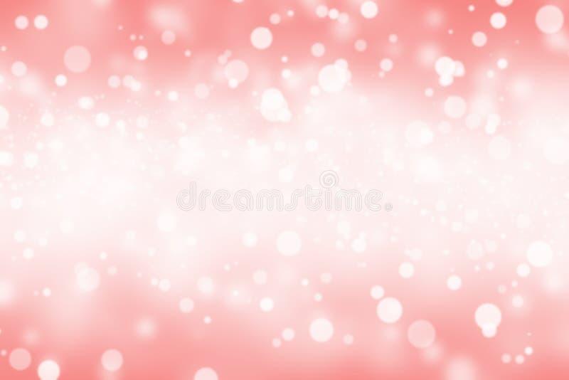 Bokeh abstrait rouge de tache floue images stock