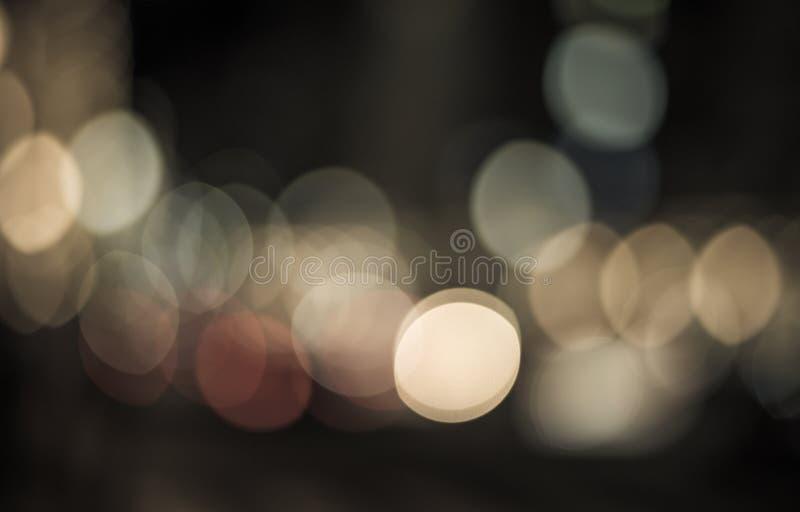 Bokeh abstrakcjonistyczni światła Perfect świąteczny tło obraz stock
