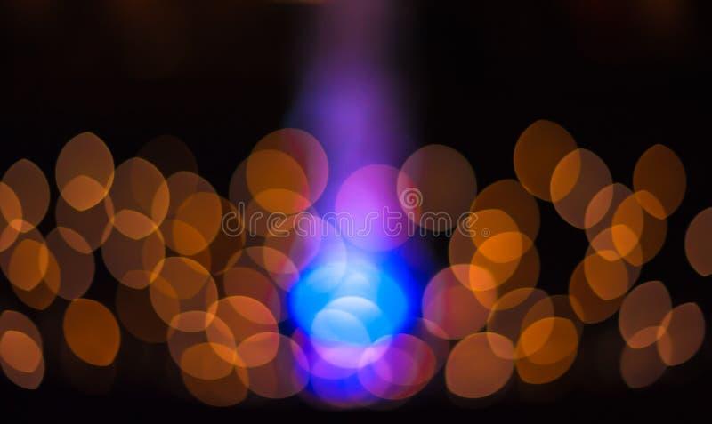 Bokeh abstrakcjonistyczni światła Perfect świąteczny tło zdjęcie stock