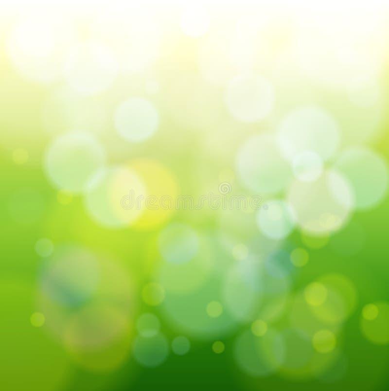 bokeh abstrakcjonistyczny zielone światło