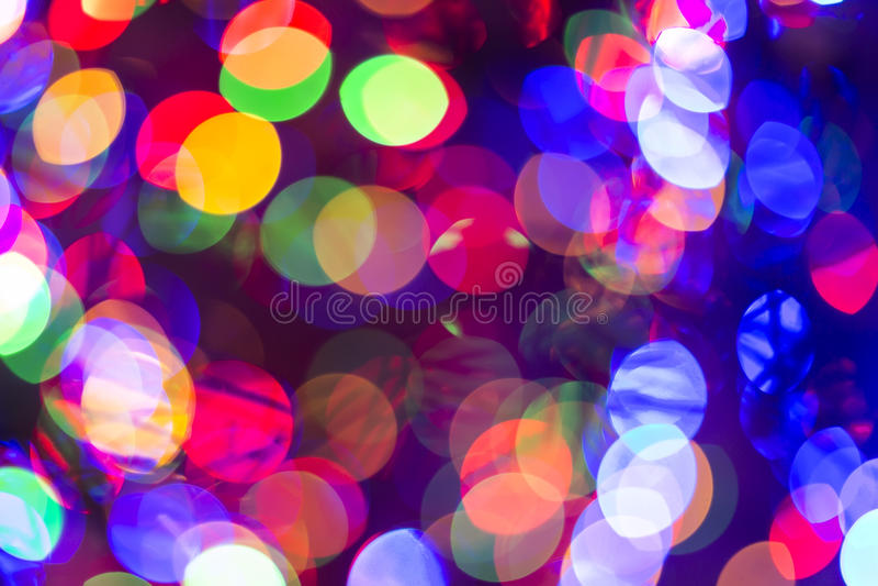 Bokeh abstrakta światła tła obrazy royalty free