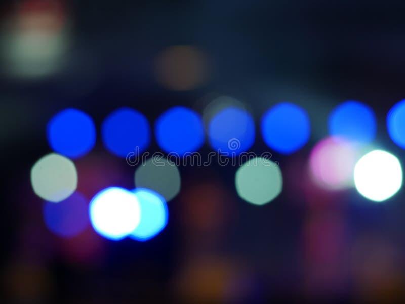 Bokeh abstrato da iluminação, fundo bonito para o espaço da cópia fotografia de stock royalty free