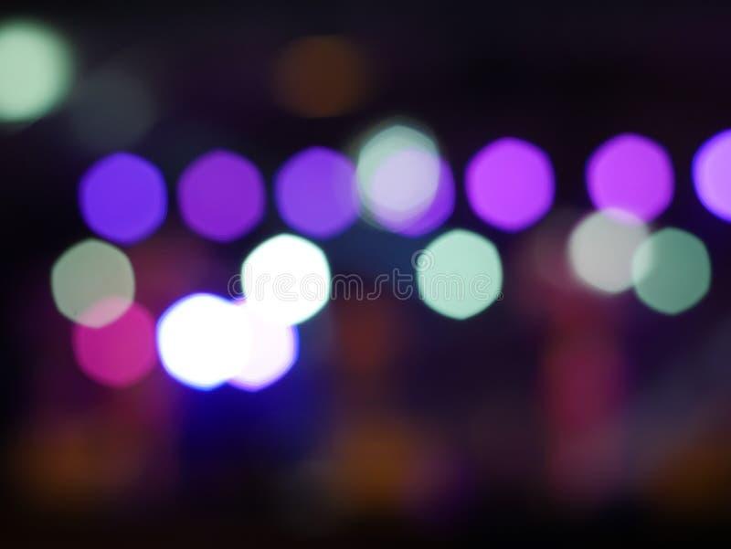 Bokeh abstrato da iluminação, fundo bonito para o espaço da cópia fotos de stock