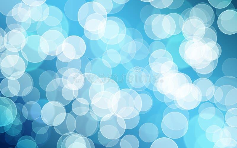 Bokeh azul imágenes de archivo libres de regalías