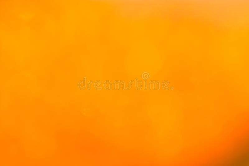 Bokeh backgrounds : orange color royalty free stock photo
