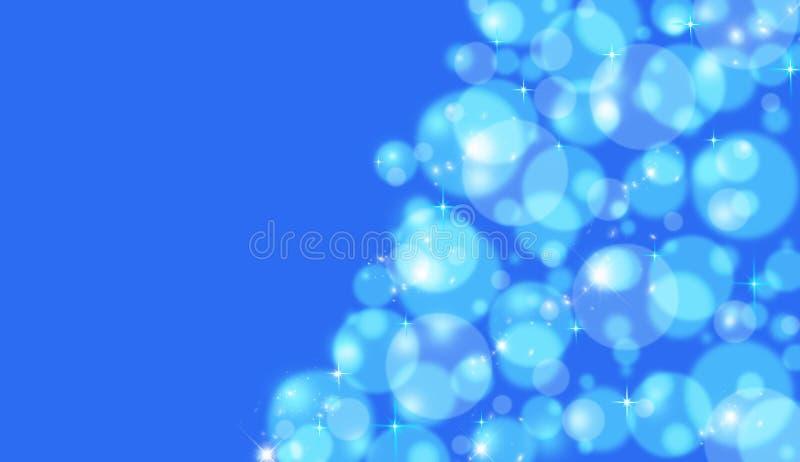Bokeh bleu images stock