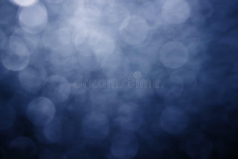 Bokeh blu fotografie stock libere da diritti