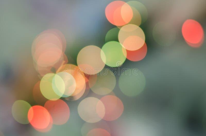 Bokeh blur, Color from string light, diagonal photo stock photo
