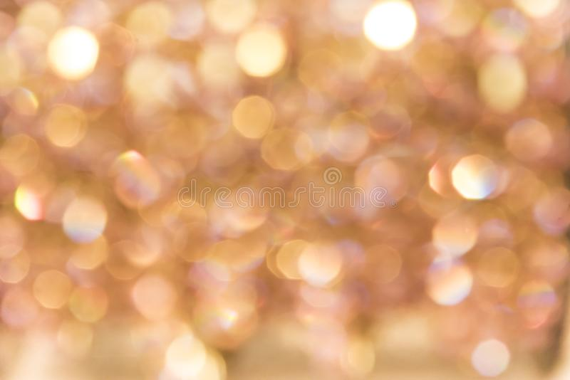 Bokeh blur fairy texture of pearls and diamonds shimmering in th. E light royalty free stock photography