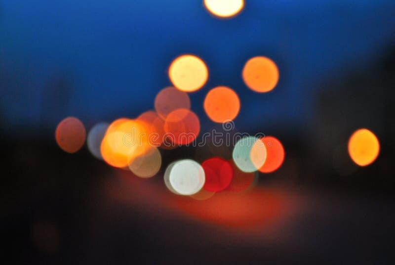 Bokeh and blur stock photo