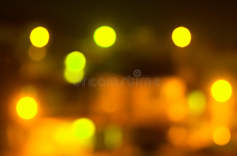 Bokeh blurred out of focus background. Grunge and retro style stock photography