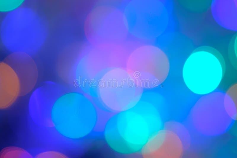 Bokeh blurring lights. royalty free stock photos