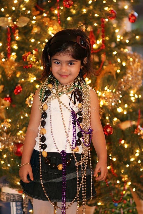 bokeh bożonarodzeniowe światła obraz royalty free