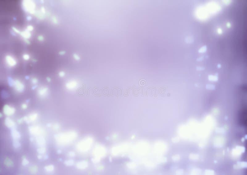 Bokeh branco no fundo magenta fotografia de stock