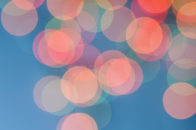 Bokeh Christmas background on Christmas holiday background.  stock photo