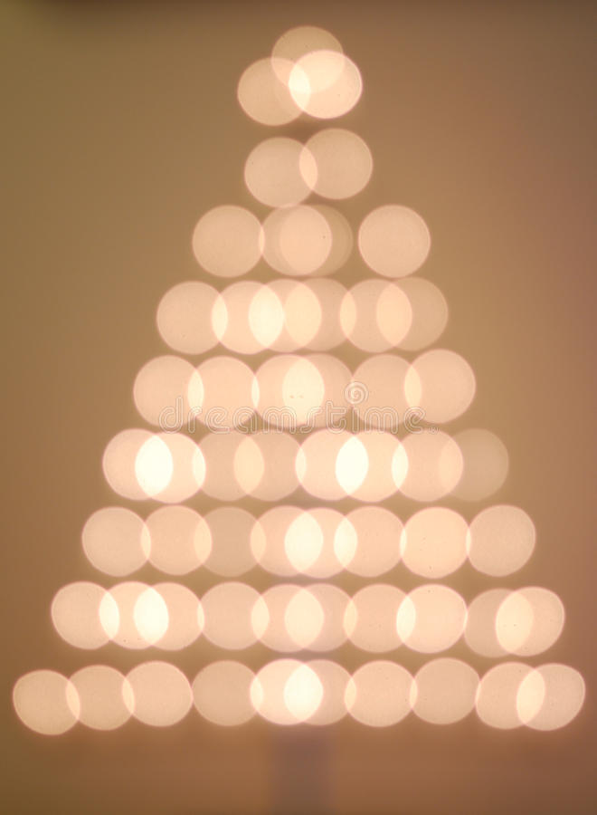 Free Bokeh Christmas Tree Stock Image - 12133831