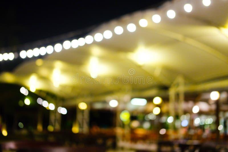 Bokeh circulaire abstrait de flou de lumières photo libre de droits