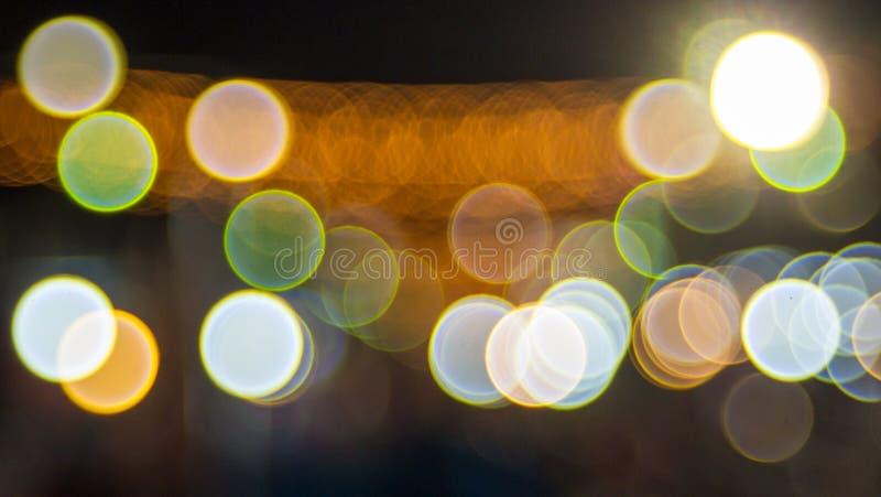 Bokeh circular abstrato fotografia de stock