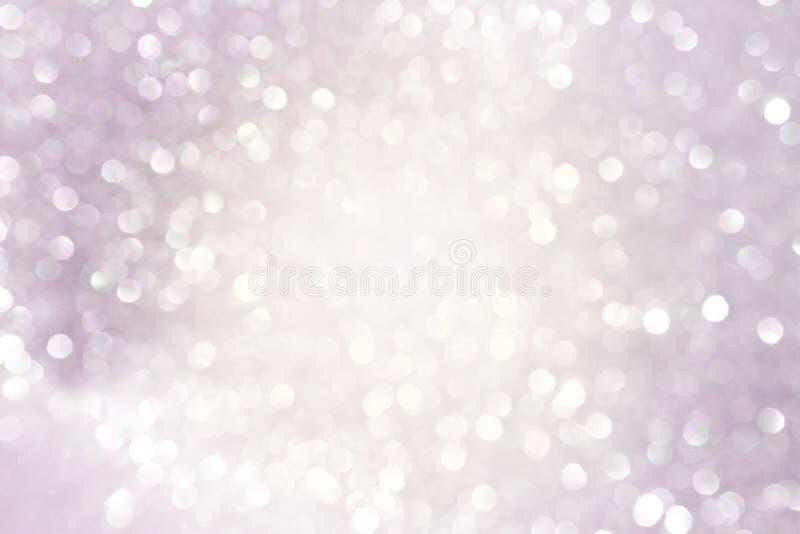 Bokeh claro abstrato com o filtro do rosa do vintage imagem de stock