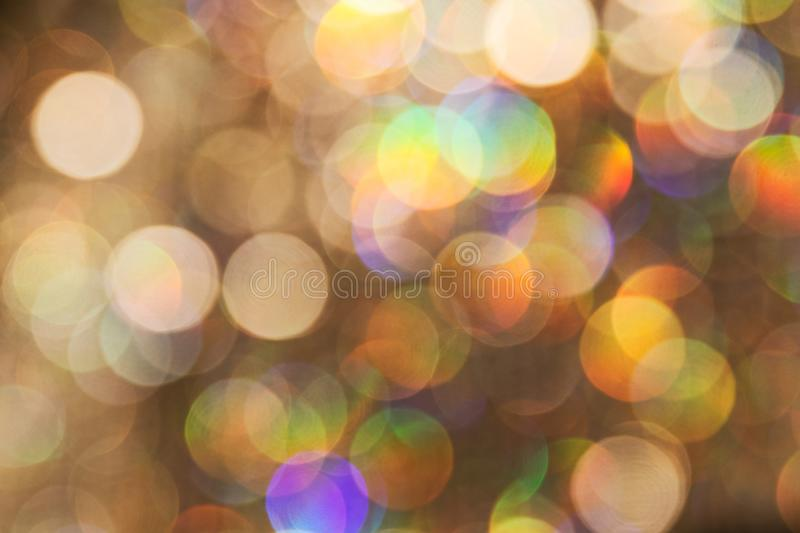 Bokeh created with diamond blur royalty free stock photo