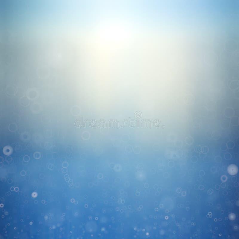 Bokeh d'hiver image libre de droits