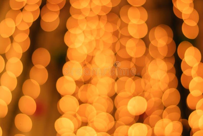Bokeh da luz amarela fotos de stock royalty free