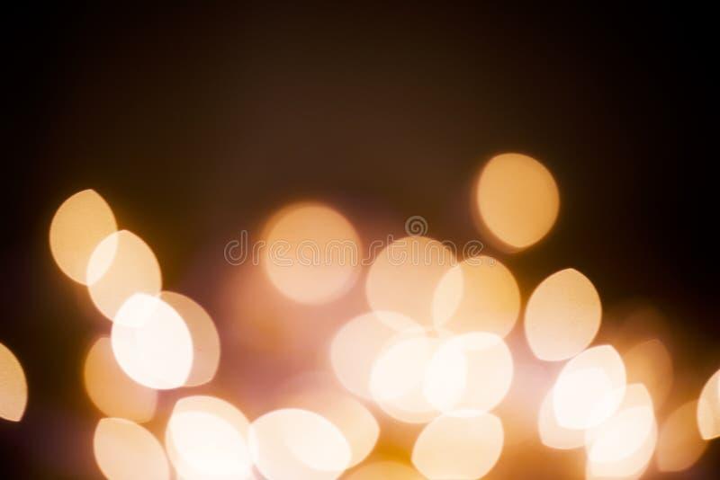 Bokeh das luzes de Natal foto de stock