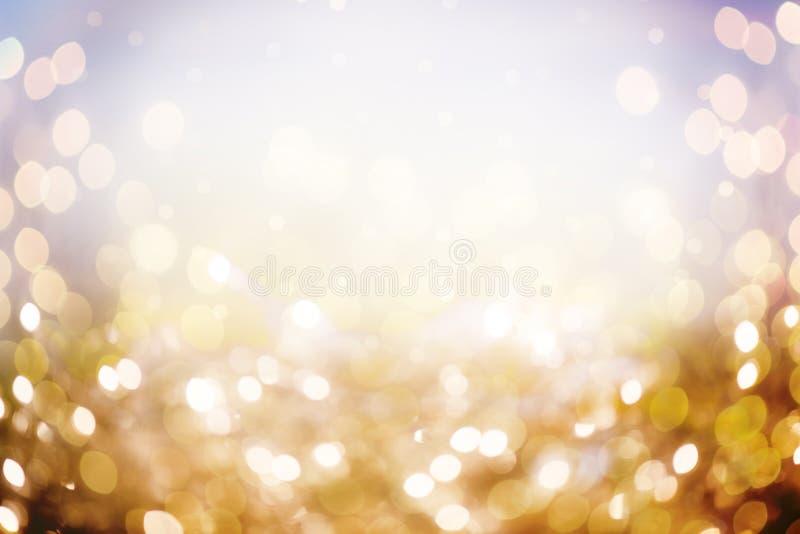 Bokeh das luzes de Natal fotos de stock royalty free